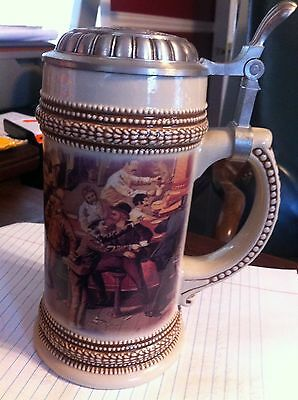 1999 Limited Edition Beer Stein  Made in Germany Paul Sebastian Fine Fragrance