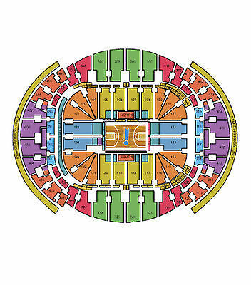 2 Tickets Miami Heat vs Charlotte Hornets Tickets 04/07/15 American Air Arena