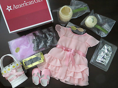 AMERICAN GIRL KIT SPECIAL LIMITED EDITION CANDY MAKING KIT EASTER DRESS SET NIB