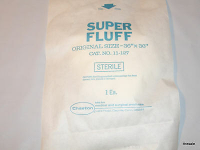 "Lot of (30) New Huge 36x36"" Surgical GAUZE Super FLUFFS Sterile Wound Dressings"