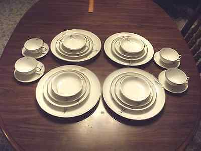 royal bayreuth/tettau china 4 place settings and extras