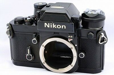 Nikon F2AS Photomic Black Body 35mm SLR Film Camera Excellent++ Condition #25221