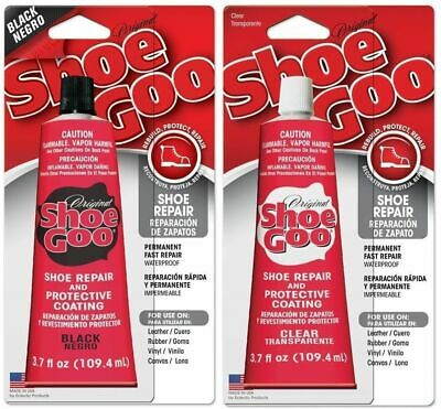Shoe Goo Original Clear Black Free Postage Australian Seller