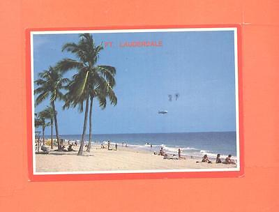 KK POSTCARD FORT LAUDERDALE BEACH FLORIDA