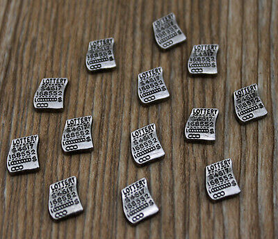 10pcs wholesale Floating Charms for Glass Memory Locket necklace e21