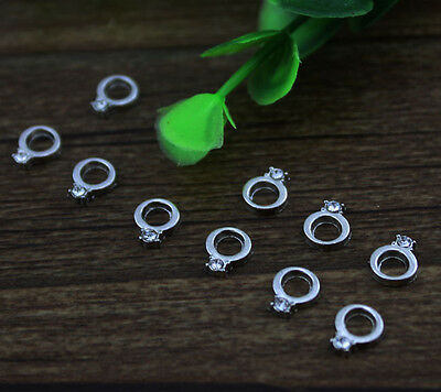 10pcs ring wholesale Floating Charms for Glass Memory Locket necklace e31