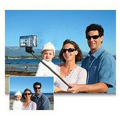 NEW Self-Portrait Monopod Handheld Holder for iPhoneSamsung Smartphone Black