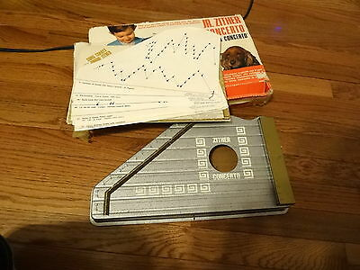 VINTAGE JUNIOR ZITHER MADE IN ITALY ORIGINAL BOX ~ NEEDS RESTRUNG AND TUNED