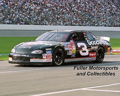 DALE EARNHARDT SR 1999 #3 GM GOODWRENCH CHEVY NASCAR WINSTON CUP 8X10 PHOTO