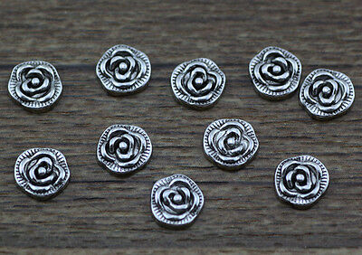 10pcs flower wholesale Floating Charms for Glass Memory Locket necklace e48