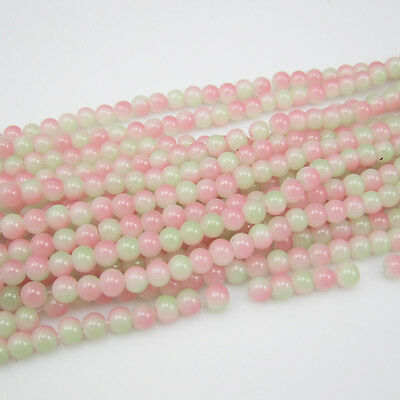 NEW 50 pcs 6mm Ball crystal Beads for Fit Bracelets Necklaces Charm mix colors W