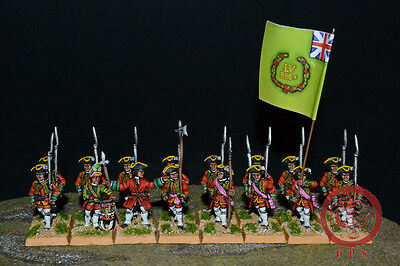 28mm Seven Years War DPS painted British Musketters  WP7213