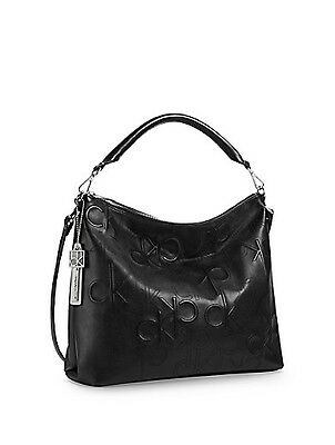NWT Calvin Klein KENZIE HOBO SHOULDER BAG Black Authentic Fast 2 Day Shipping