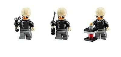 LEGO STAR WARS Bith musician lot of 3 MINIFIG new from Lego set #75052 Cantina