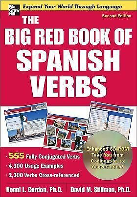 The Big Red Book of Spanish Verbs with CD-ROM, Second Edition, Stillman, David,