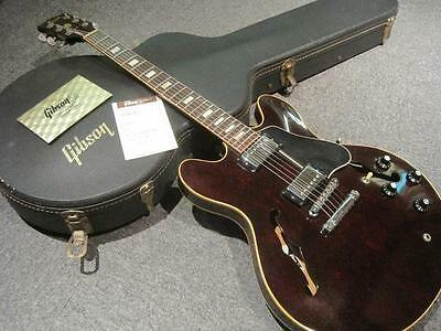 Free Shipping!! Very Rare!! Gibson 1975 ES-335 Walnut Guitar β