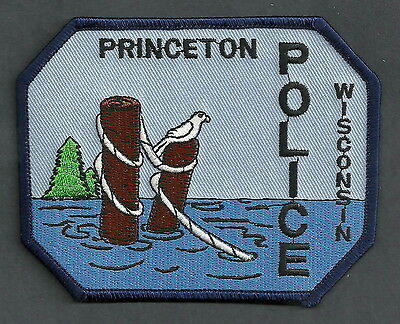 PRINCETON WISCONSIN POLICE PATCH