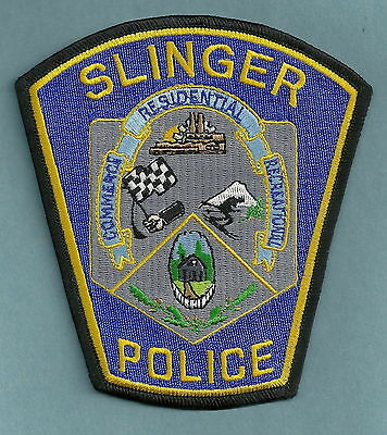 SLINGER WISCONSIN POLICE PATCH