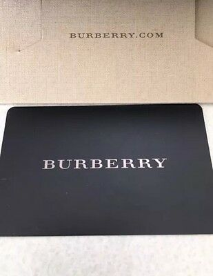 Burberry Gift Card $100 (valid online or in store)