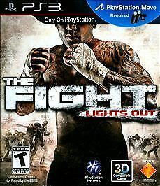 Playstation 3 - The Fight Lights Out (New) PS Move Required + 3D Compatible NIB!