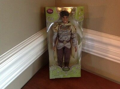 Disney Store Exclusive Princess and the Frog Prince Naveen Doll
