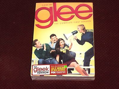 Glee: The Complete First Season (DVD, 2010, 7-Disc Set) New