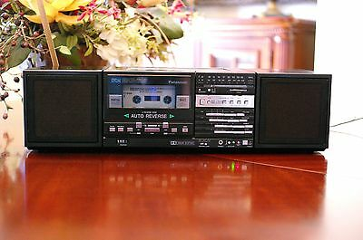 Vintage PANASONIC RX-C20 Portable Stereo - Mini Boombox - Made In Japan!!!