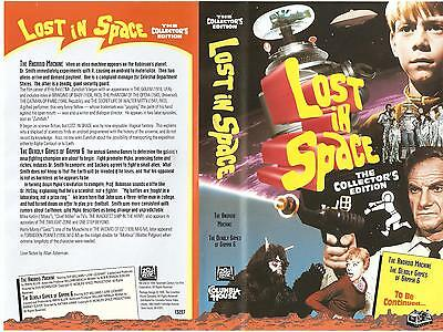 "Lost In Space Columbia House VHS ""The Android Machine"" (1995)"