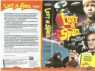 "Lost In Space Columbia House VHS ""The Golden Man"" (1996)"