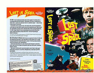 "Lost In Space Columbia House VHS ""The Raft"" & ""One Of Our Dogs Is Missing""(1994)"