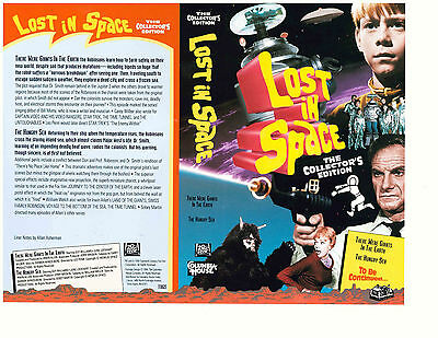 "Lost In Space Columbia House VHS ""There Were Giants In The Earth"" (1994)"