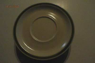 3 Genuine Stoneware - LightGREEN Band Saucer - Made in Japan