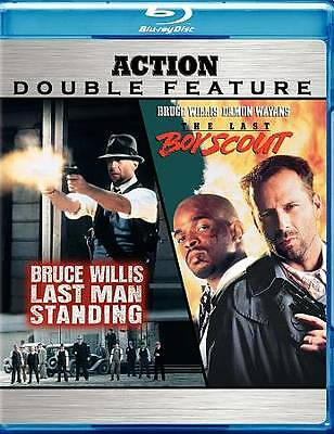 DOUBLE FEATURE LAST MAN STANDING / THE LAST BOY SCOUT [BLU RAY] LIKE NEW B4