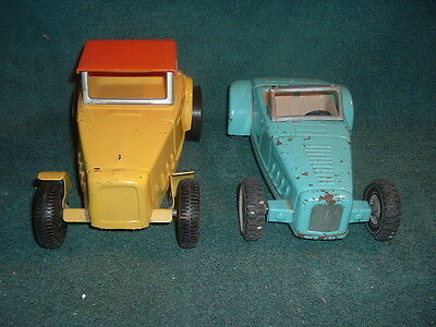 VINTAGE BUDDY L AND NYLINT PRESSED STEEL HOT RODS
