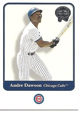 ANDRE DAWSON 2001 Fleer Greats of the Game #43