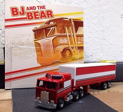 Customized Bj and the Bear Kenworth Semi And Trailer Look Alikes