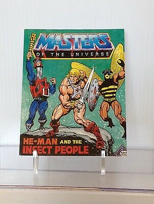 He-man Masters of the Universe MOTU Mini Comic He-man and the Insect People