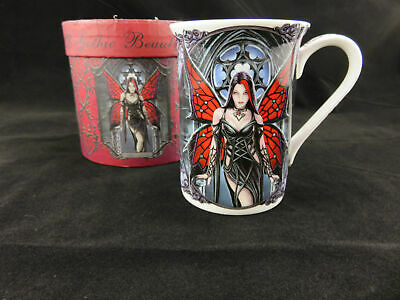 "Anne Stokes ""Aracnafaria"" Gothic Mug, Gift Boxed Wonderful Gift Idea!"