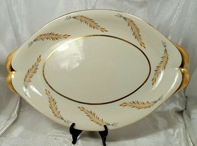"""MEITO NORLEANS CHINA COURTLEY OCCUPIED JAPAN 18"""" OVAL SERVING PLATTER"""