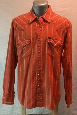 SOUTHERN THREAD COMPANY WESTERN SHIRT size LARGE