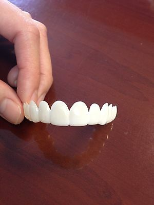 Dental lab direct@ Smile again@ Snap on cosmetic teeth@ Removable veneer@ 1 Arch