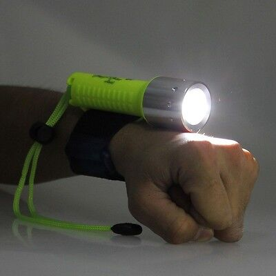 Underwater Waterproof 1600LM CREE XM-L T6 LED 50M Diving Flashlight Torch Lamp