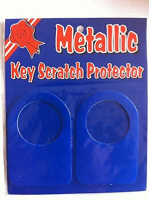 Car Blue Sticky Stickers Key Scratch Protector  Locks Small Hole  Door Addesive