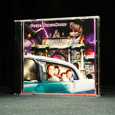 Steve Morse Band - Stressfest - music cd album