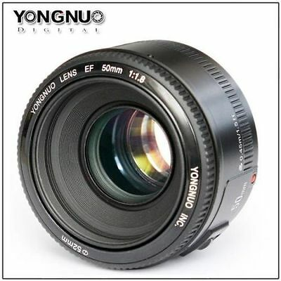 Yongnuo EF 50mm F1.8  Fixed Prime Digital Camera Lens  for Canon EOS Rebel