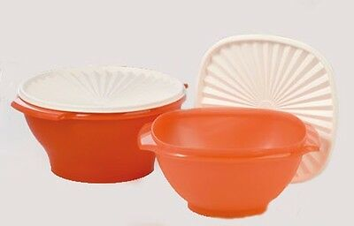 New Tupperware Classic Servalier Large bowls Set of 2