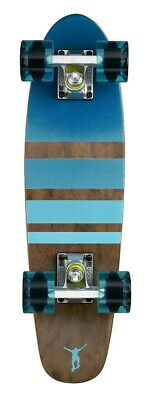 "Ridge 22"" Mini Cruiser Board Retro Skateboard Wood Board Complete 7-ply Maple"