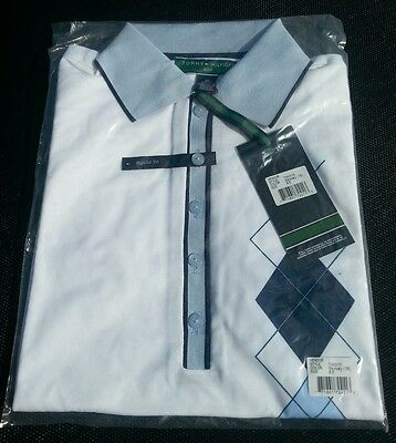 New Tommy Hilfiger Ladies Golf Polo Shirts White Choose Xs (6) Or Xl (14)