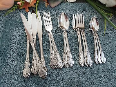 Oneida USA 18/8 Deluxe Stainless PFALTZGRAFF FOLK ART 20pcs 4 Place Settings VGU