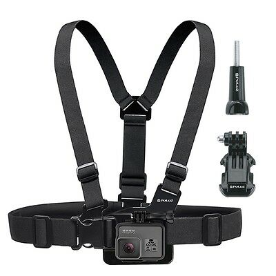 Adjustable Elastic Body Chest Strap Harness for GoPro Hero 5 4 3 2
